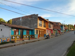 the colored town of Guatapé