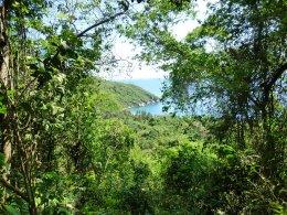 hiking in Tayrona