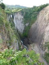 Waterfall close to San Agustin